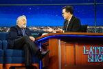 Robert De Niro visits Stephen Colbert