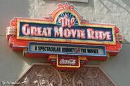 The Great Movie Ride Coca cola