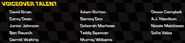Cars 3 The Game Voice Credits