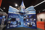 D23 Expo 2013 Frozen Booth