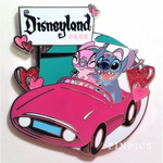 DLR - Stitch and Angel Valentine's Day 2018 pin