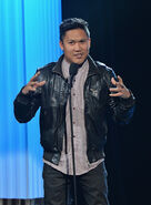 Dante Basco performance at Pinoy Relief