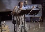 David Hyde Pierce behind the scenes of abl