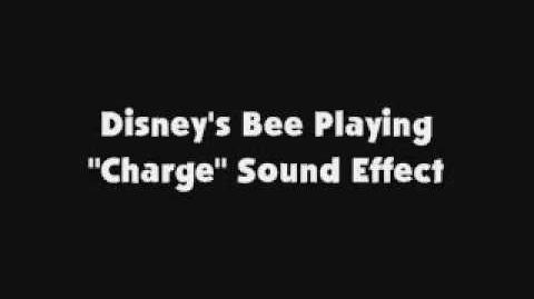 Disney's Bee Playing Charge Sound Effect
