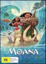 Moana 2017 AUS DVD