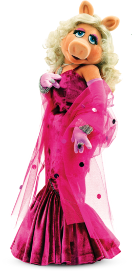 Muppets - Miss Piggy - Render