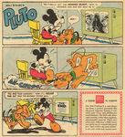 Pluto vs hooded rider reveal comic
