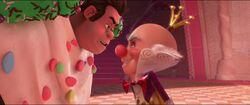 Ralph und King Candy