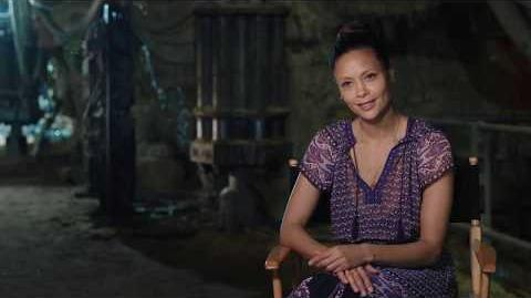 "SOLO Behind The Scenes ""Val"" Thandie Newton Interview - A Star Wars Story"