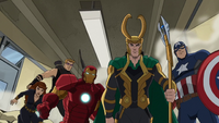 The Avengers with Loki USMWW