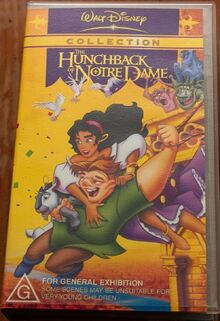 The Hunchback of Notre Dame 2003 AUS VHS