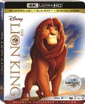 The Lion King 4KUHD Bluray