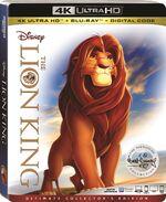 The Lion King 4KUHD Bluray
