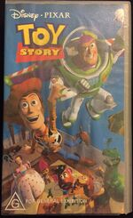 Toy Story 2002 AUS VHS