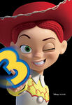 Toy Story 3 Character Poster Dateless 04