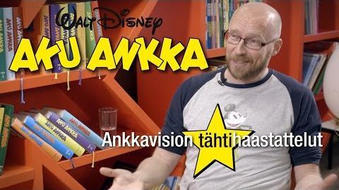 Aku Ankan toimituksen tähtihaastattelussa Antti Pääkkönen