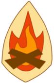 ClubAcampada insignia