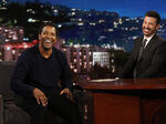 Denzel Washington visits JKL