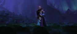 Die königliche Familie im Tal der Felsen