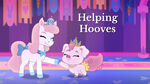Helping hooves title