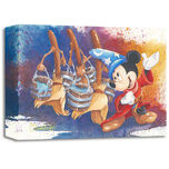 Mickey Mouse ''Magical March'' Giclée by Michelle St. Laurent