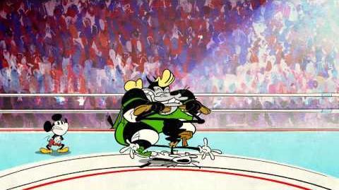 Mickey Mouse Handdoek in de ring Disney NL
