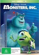 Monsters Inc 2013 AUS DVD with Digital Copy