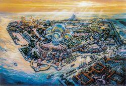 Port DIsney DisneySea Overview