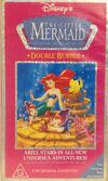 The Little Mermaid Double Bubble 1993 AUS VHS
