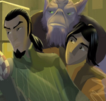 Zeb, Kanan, and Ezra