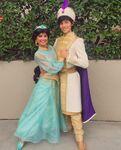 Aladdin & Jasmine new looks