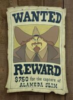 Alameda Slim Wanted Poster