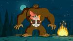 Bigfoot prank