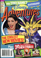 Disney Adventures Magazine cover August 2004 Anne Hathaway Yugi