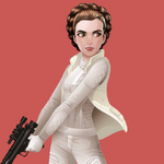 FOD - Hoth Leia promotional artwork
