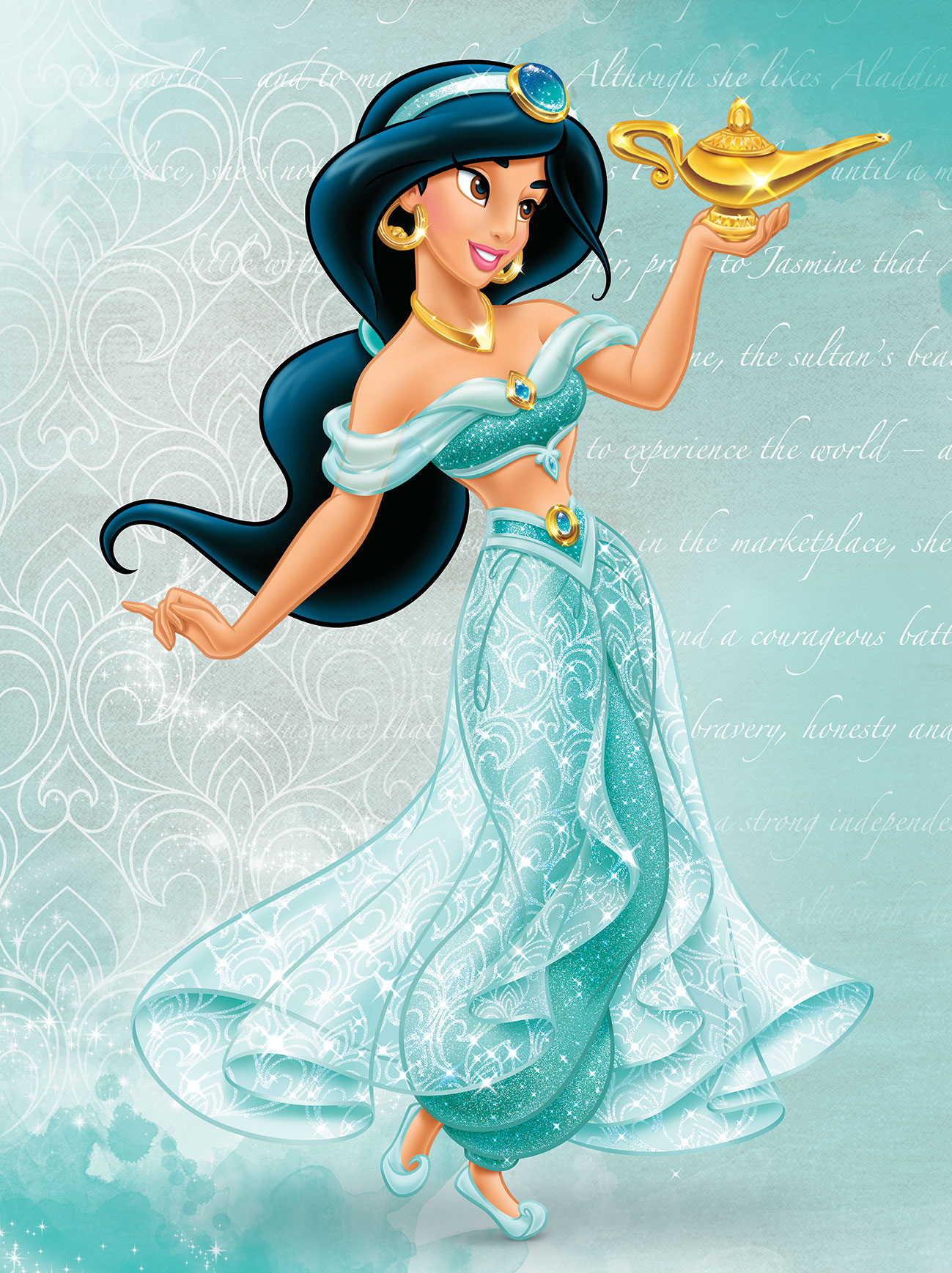 Image  Jas holding a magic lampjpg  Disney Wiki  FANDOM