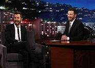 Justin Theroux visits JKL