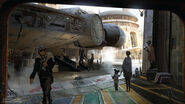 Star Wars Land Concept Art 08