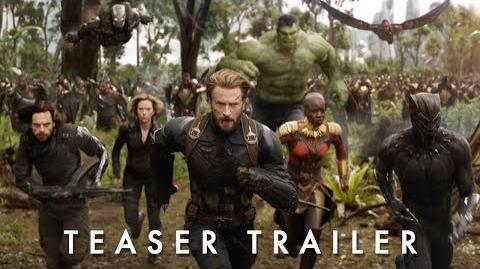 Teaser Trailer - Vingadores Guerra Infinita, 26 de abril de 2018 nos cinemas.