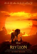 The Lion King Mexican poster