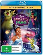 The Princess and the Frog 2010 AUS Blu Ray + DVD