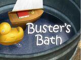 Buster's Bath