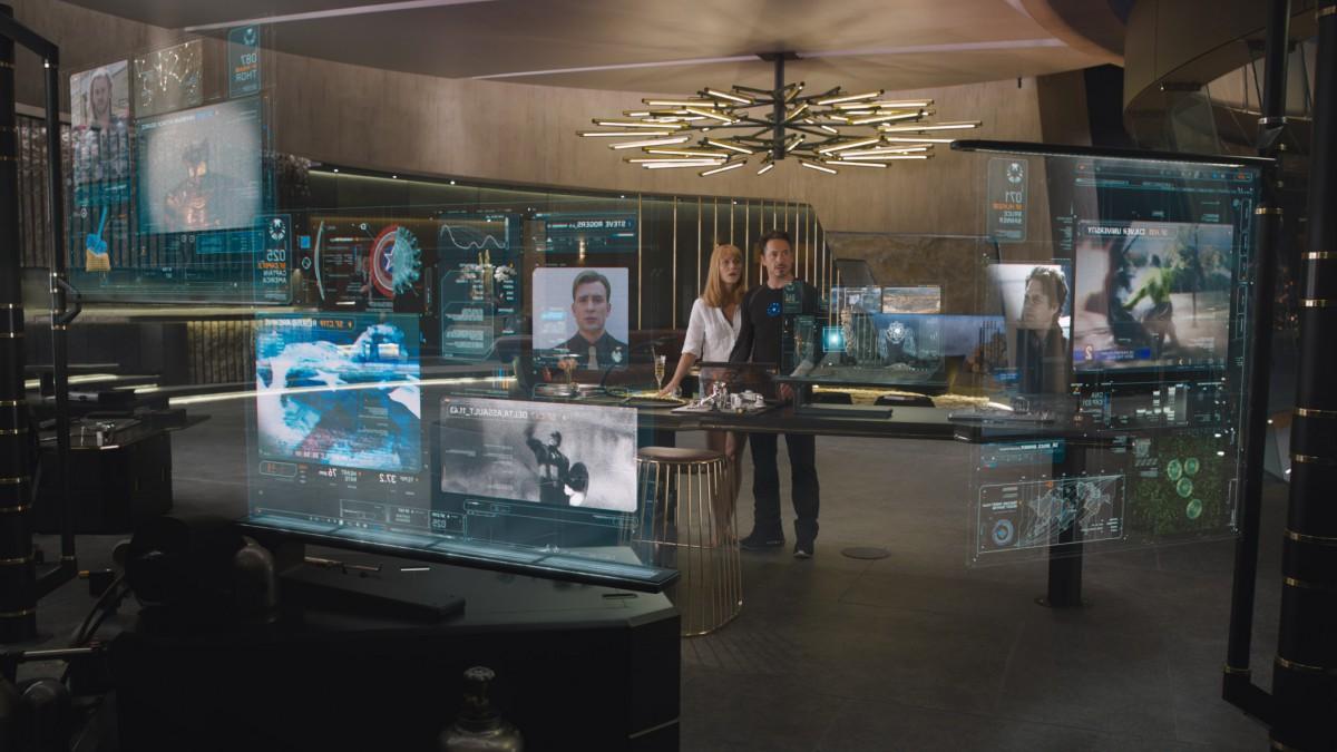 Beautiful The Avengers With Tony Stark House