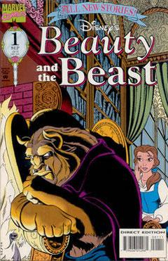 beauty and the beast marvel comics disney wiki