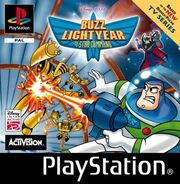 Buzz Lightyear of Star Command UK PS1 Cover