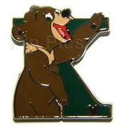 DLR - 2011 Hidden Mickey Series - Alphabet Letter Collection - K For Koda