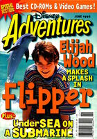 Disney Adventures Magazine cover June 1996 Elijah Wood Flipper