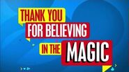 Disney Channel Australia Goodbye Promo - Thanks You For Beliving In The Magic