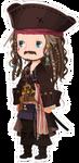 Jack Sparrow Costume Kingdom Hearts χ