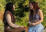 Once Upon a Time - 3x06 - Ariel - Photography - Ariel and Snow Meet